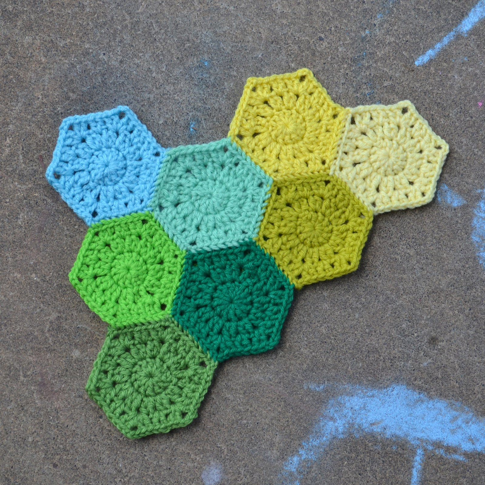 Inspirational Crochet In Color Hexagon Pattern Easy Crochet Projects Of Awesome 49 Pics Easy Crochet Projects