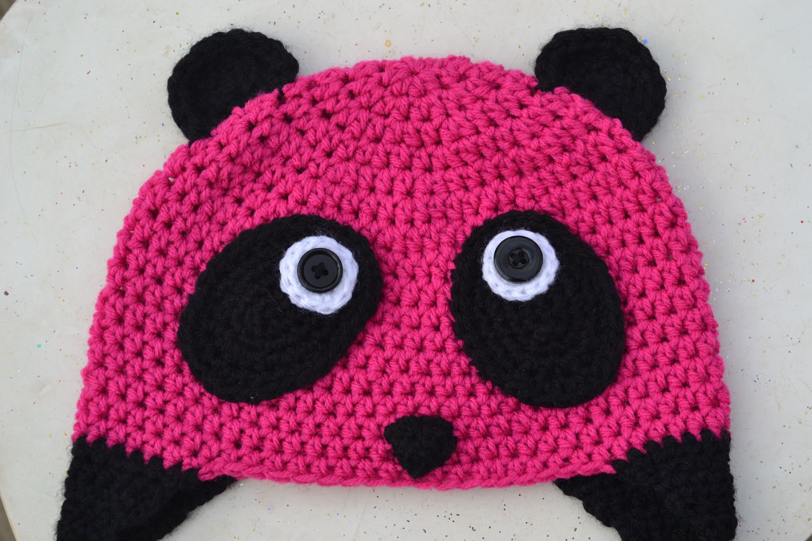 Inspirational Crochet In Color the Pink Panda Pink Crochet Hat Of Great 43 Models Pink Crochet Hat