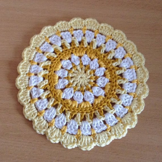 Inspirational Crochet Mandala Table Mat Crochet Table Mat Of Gorgeous 47 Ideas Crochet Table Mat