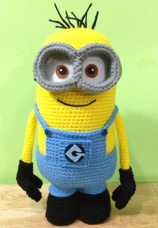 Inspirational Crochet Minions On Pinterest Free Minion Crochet Pattern Of Marvelous 44 Images Free Minion Crochet Pattern
