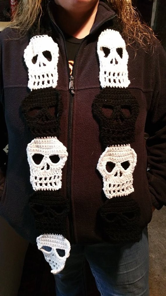 Inspirational Crochet Pattern Crochet Sugar Skull Easy Crochet Scarf Crochet Sugar Skull Of Incredible 47 Pictures Crochet Sugar Skull