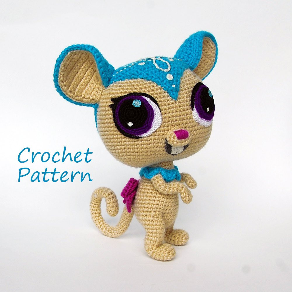 Inspirational Crochet Pattern Littlest Pet Shop Sweet Brown Mouse Diy Crochet Shop Of Lovely 48 Images Crochet Shop