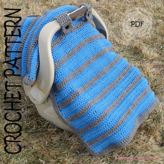 Inspirational Crochet Pattern Simply Sweet Car Seat Canopy Blanket Crochet Seat Cover Of Great 40 Models Crochet Seat Cover
