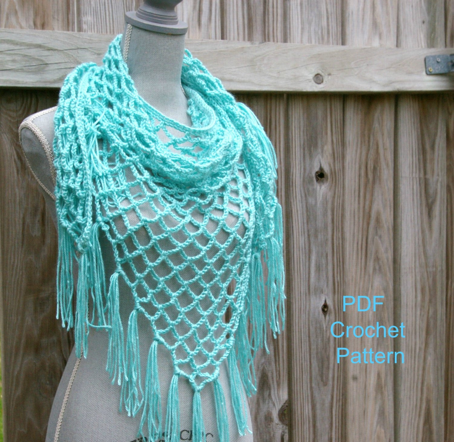 Inspirational Crochet Pattern Summer Lattice Shawl Pattern by Candacescloset Triangle Scarf Pattern Of Top 49 Models Triangle Scarf Pattern