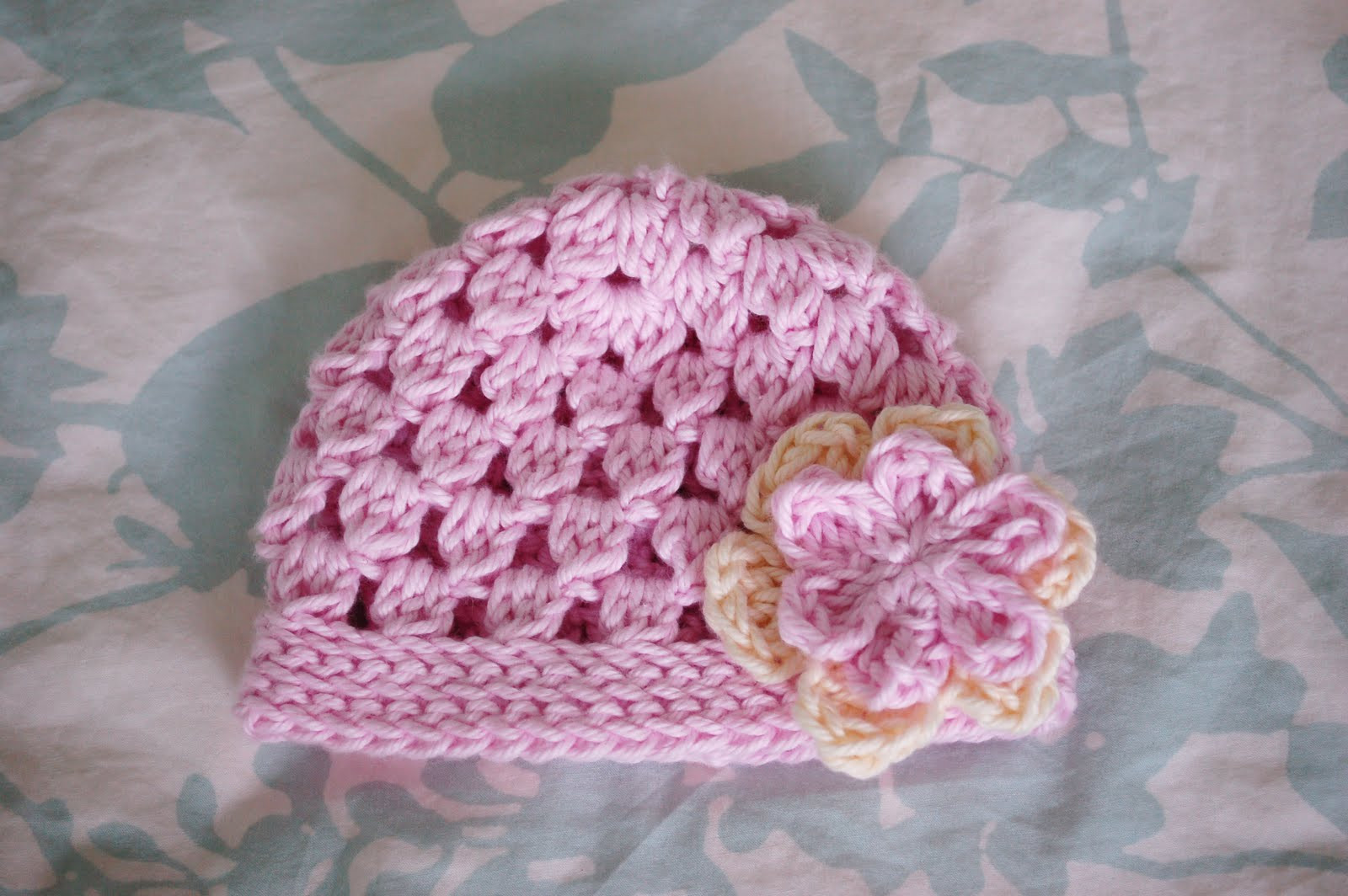 crochet patterns baby beanie