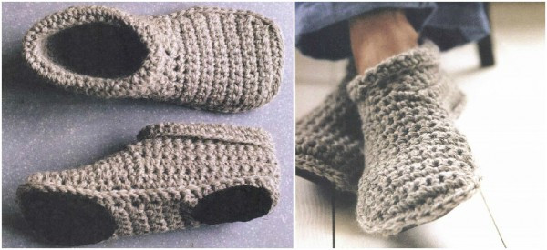crochet patterns for slippers free