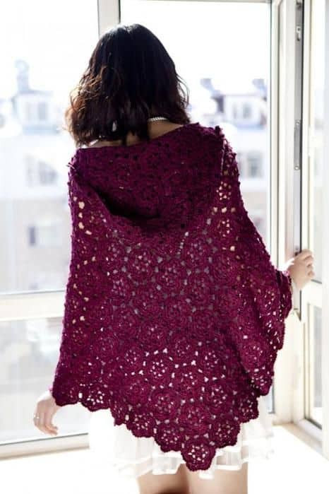 Inspirational Crochet Poncho Free Pattern All the Best Ideas Crochet Poncho with Hood Of Fresh 40 Pictures Crochet Poncho with Hood