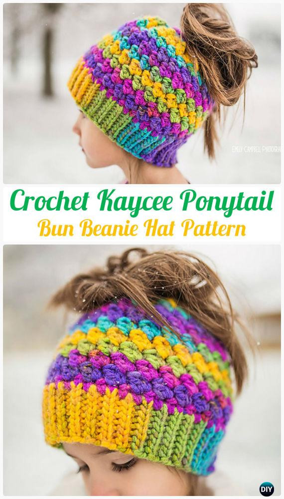 Inspirational Crochet Ponytail Messy Bun Hat Free Patterns [instructions] Crochet Messy Bun Of Contemporary 41 Images Crochet Messy Bun