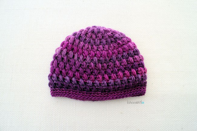 Inspirational Crochet Puff Stitch Hat Infant and toddler Sizes B Puffy Hat Of Brilliant 44 Ideas Puffy Hat