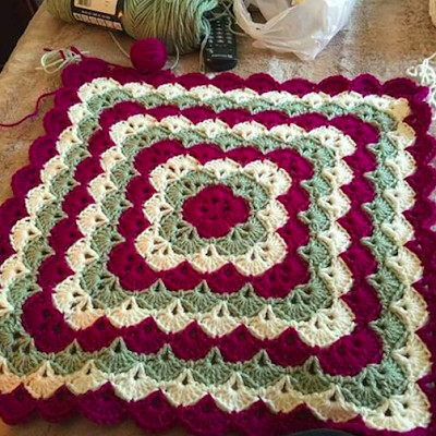 Inspirational Crochet Quilt Blanket Easy Afghan Pattern Crochet Shell Blanket Of Lovely 40 Pictures Crochet Shell Blanket