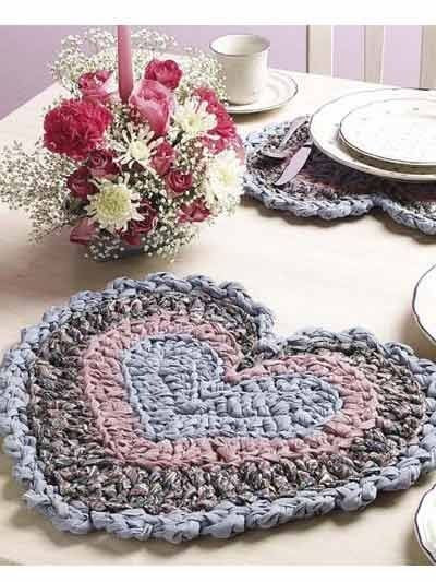Crochet Rag Placemat Free Pattern For my kitchen