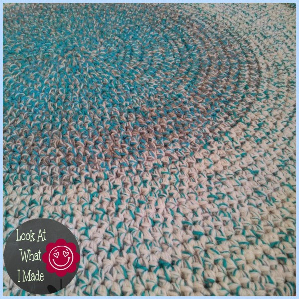 Inspirational Crochet Round Rug ⋆ Look at What I Made Crochet Rug Patterns with Yarn Of Great 50 Images Crochet Rug Patterns with Yarn