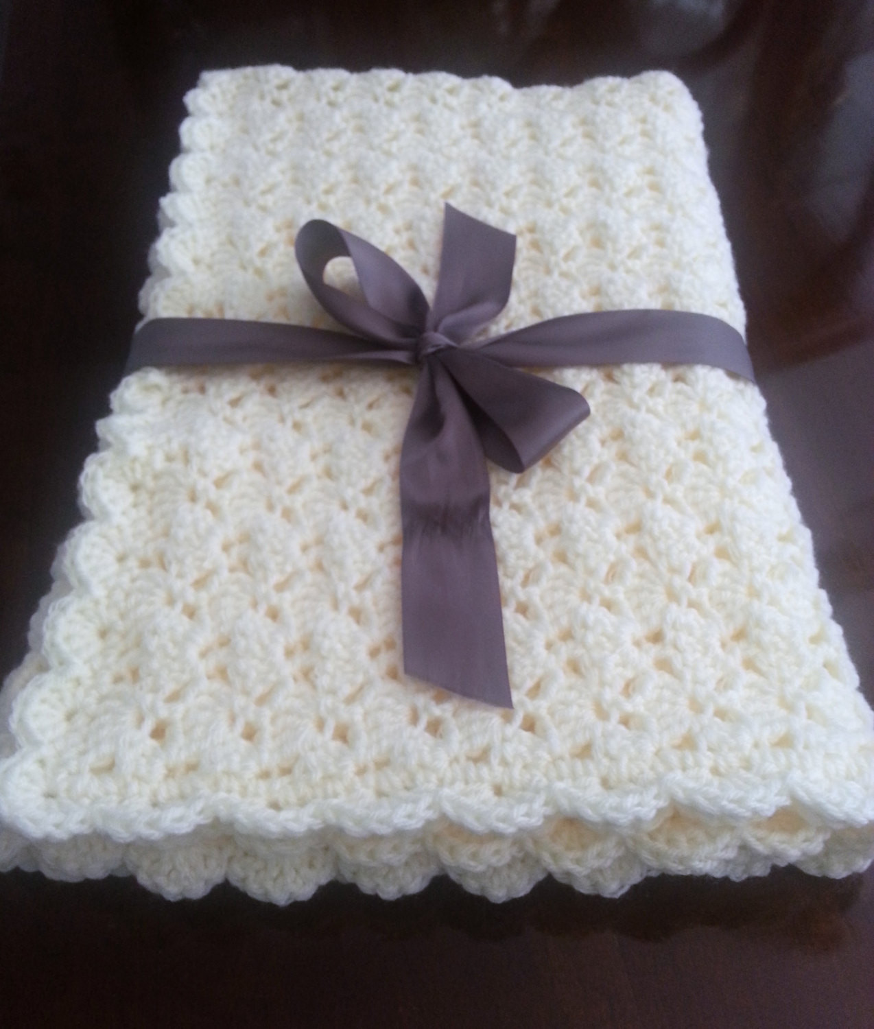 Inspirational Crochet Shell Baby Blanket Crochet Baby Boy Girl Blanket Shell Stitch Baby Blanket Of Brilliant 49 Images Shell Stitch Baby Blanket