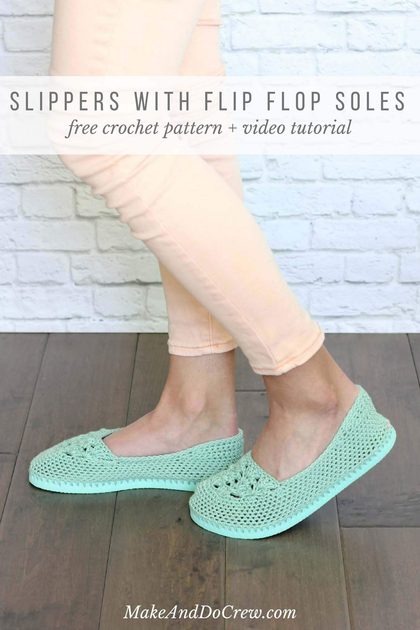 Inspirational Crochet Slippers with Flip Flop soles Free Pattern Rubber soles for Crochet Slippers Of Luxury 50 Models Rubber soles for Crochet Slippers