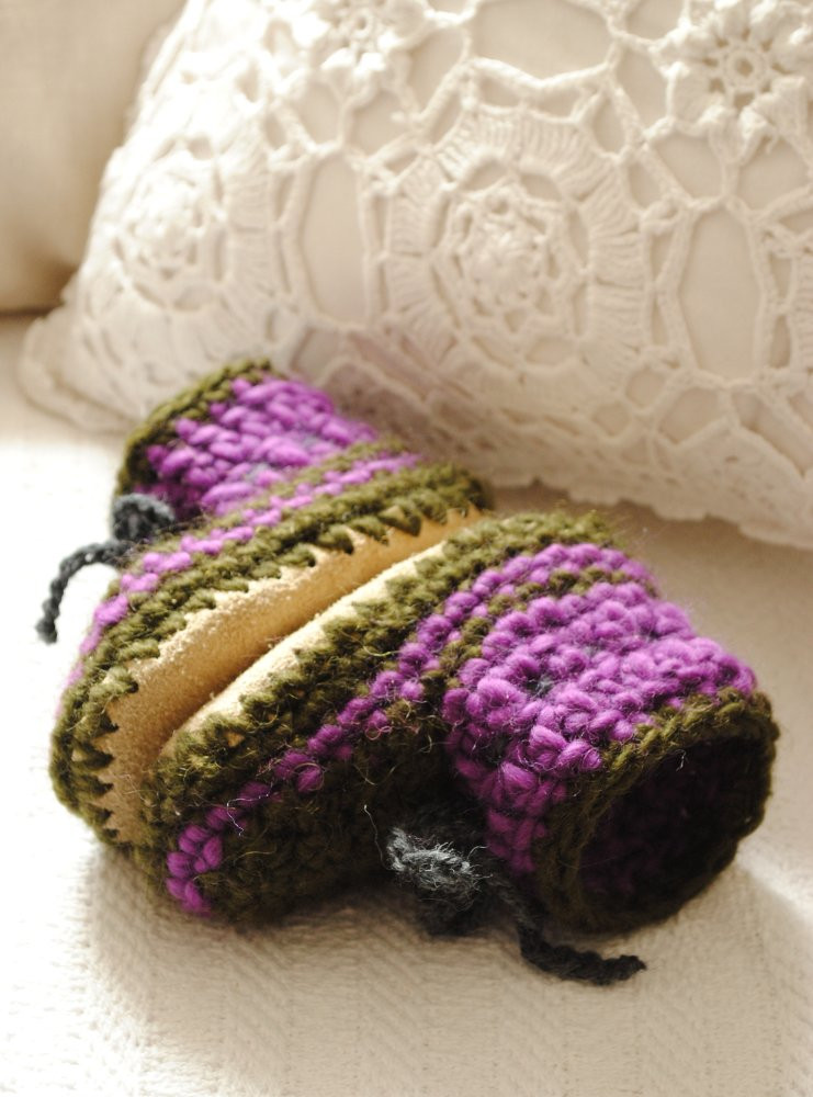 Inspirational Crochet Slippers with Leather soles Pattern Crochet and Knit Crochet Slippers with soles Of New 43 Photos Crochet Slippers with soles
