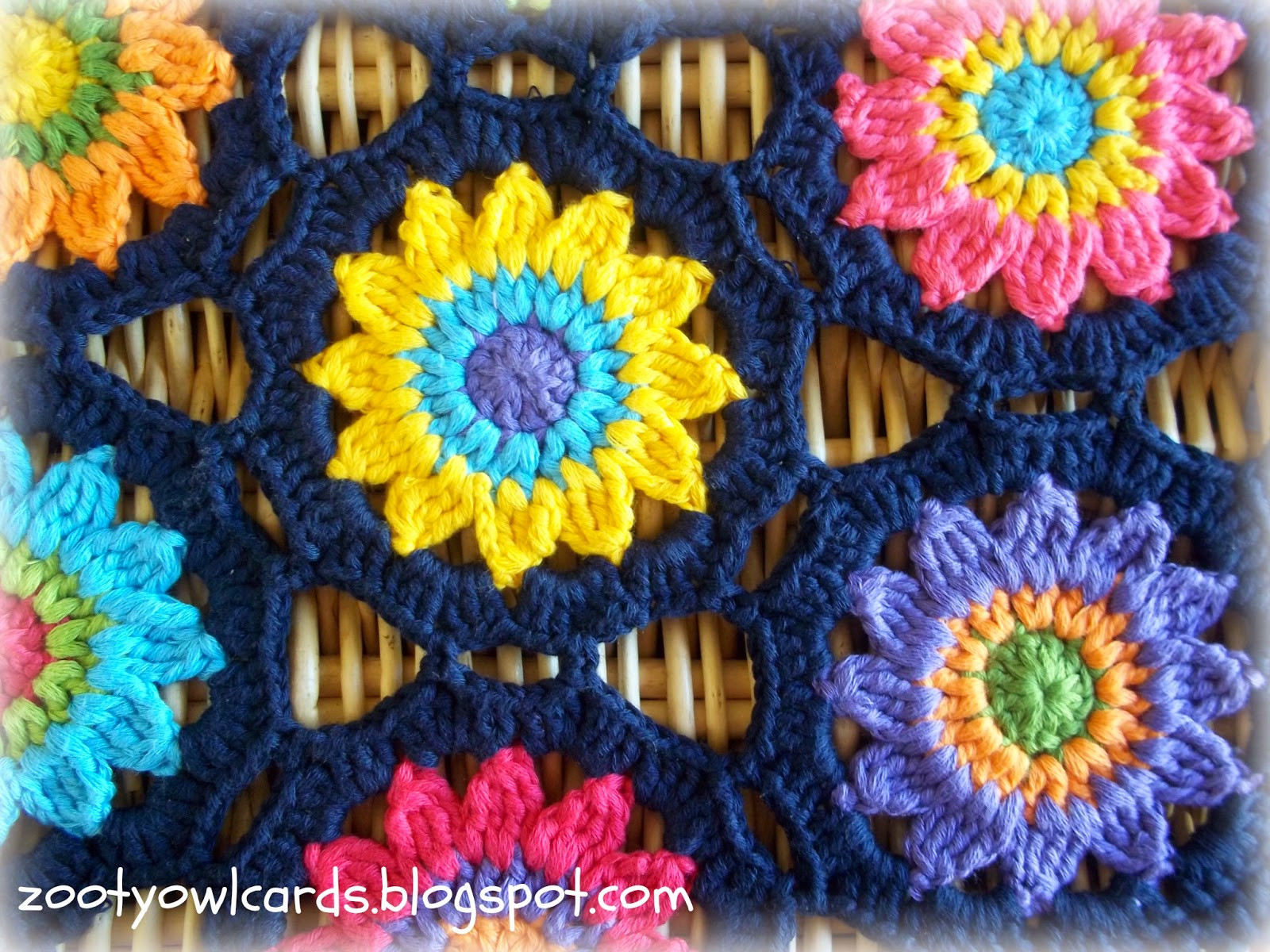 Inspirational Crochet Sunny Flower Motif Table Runner ⋆ Crochet Kingdom Crochet Kingdom Of Gorgeous 50 Pictures Crochet Kingdom