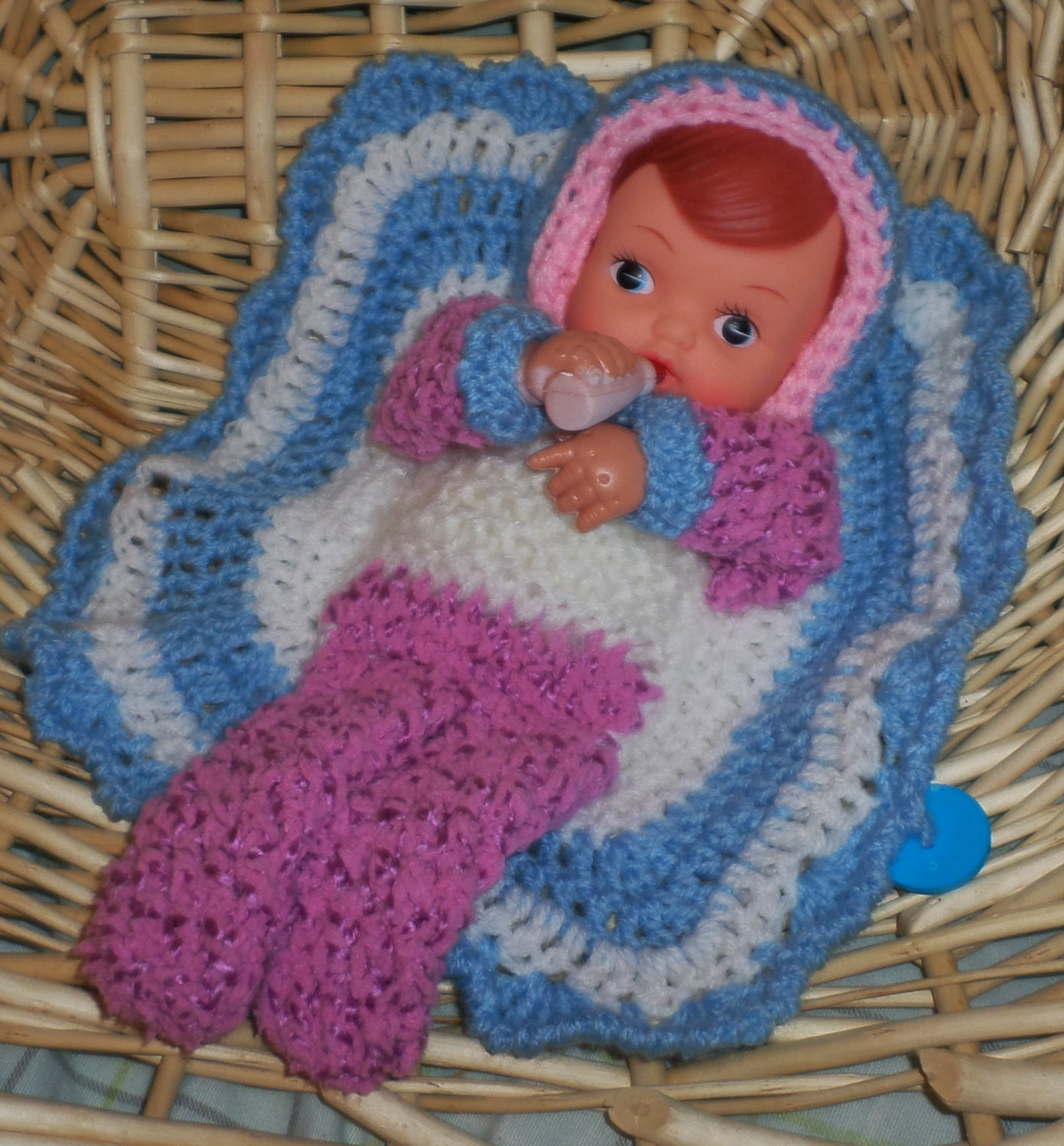 Inspirational Crocheted Blanket Bottle Baby Doll with Blanket attached Baby Doll Blankets Of Adorable 37 Images Baby Doll Blankets