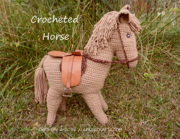 Inspirational Crocheted Horse All Free Crafts Free Crochet Horse Pattern Of Charming 47 Ideas Free Crochet Horse Pattern