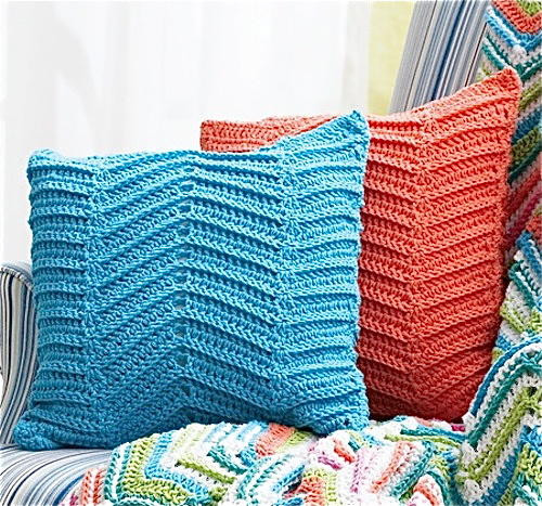 Inspirational Crocheted Zigzag Chevron Pillows Free Chevron Crochet Pattern Of Top 49 Models Free Chevron Crochet Pattern