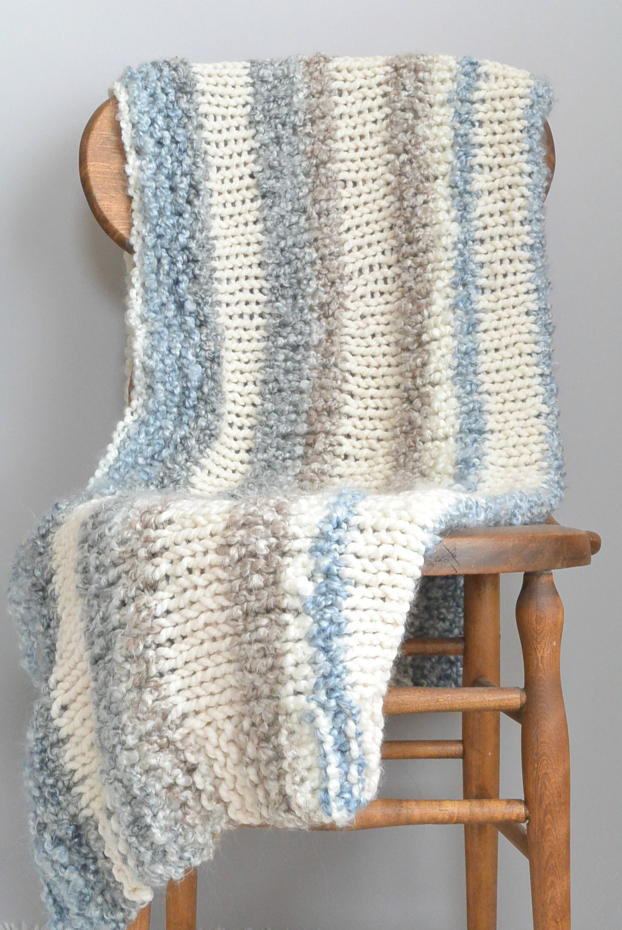 Inspirational Cuddly Quick Knit Throw Blanket Pattern – Mama In A Stitch Knitted Throw Pattern Of Awesome 45 Photos Knitted Throw Pattern