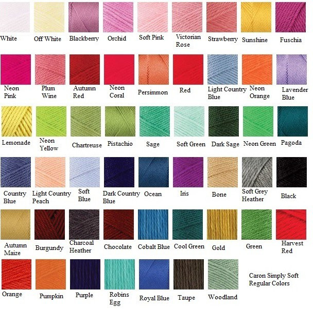 Inspirational Custom Coin Bags Caron Yarn Colors Of Attractive 45 Pictures Caron Yarn Colors
