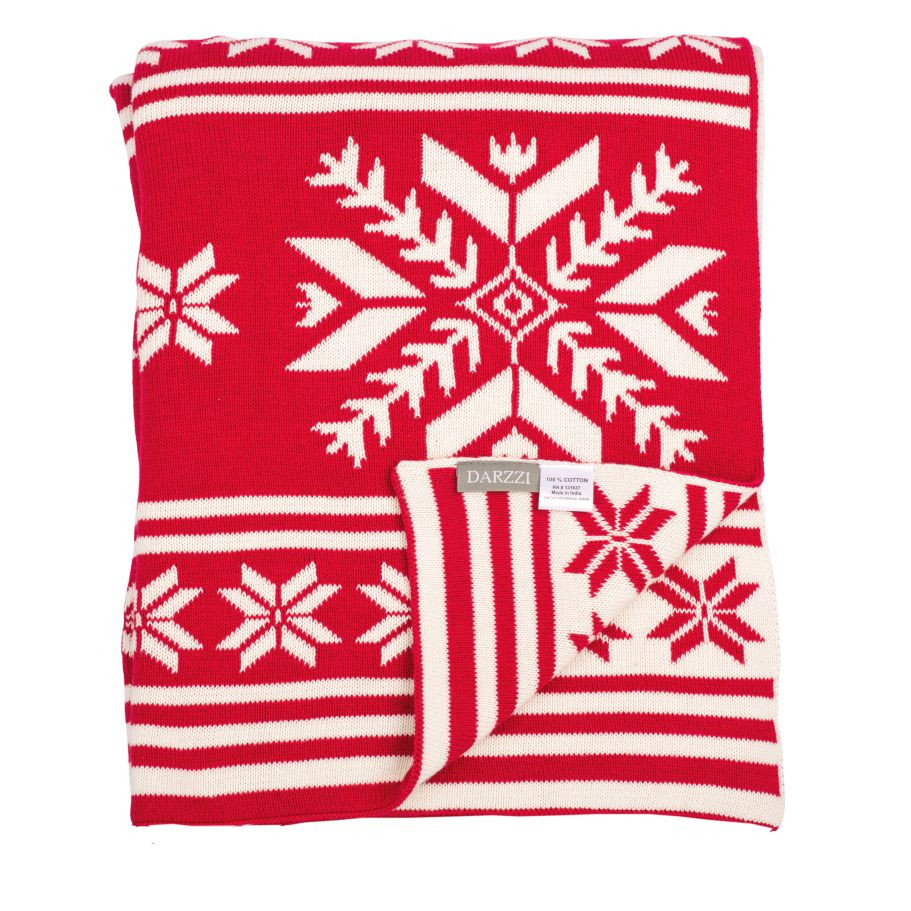 Inspirational Darzzi Throws Snowflakes Throw Red Natural Snowflake Blanket Of Lovely 50 Models Snowflake Blanket