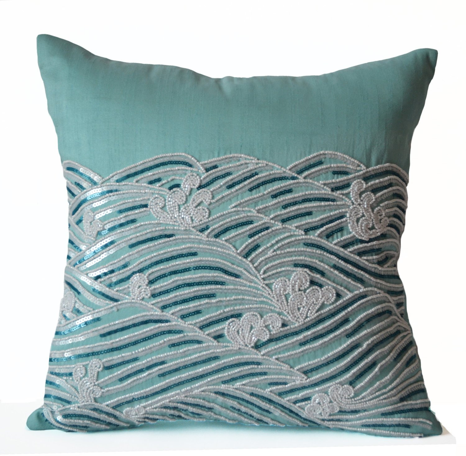 Inspirational Decorative Pillow Cover Teal Throw Pillows Sequin Accent Patterned Throw Of Amazing 40 Photos Patterned Throw