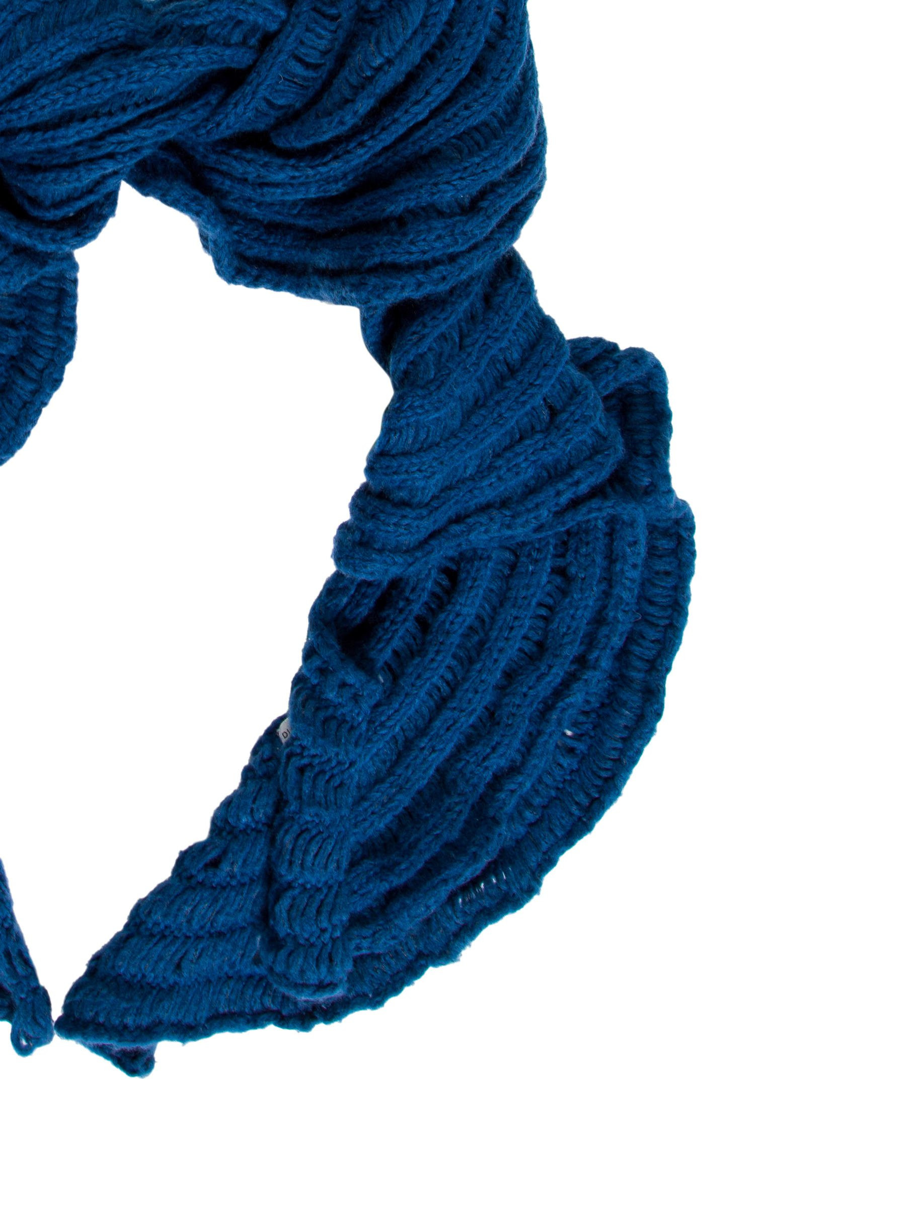 Inspirational Diane Von Furstenberg Ruffled Knit Scarf Accessories Knit Ruffle Scarf Of Marvelous 50 Pics Knit Ruffle Scarf