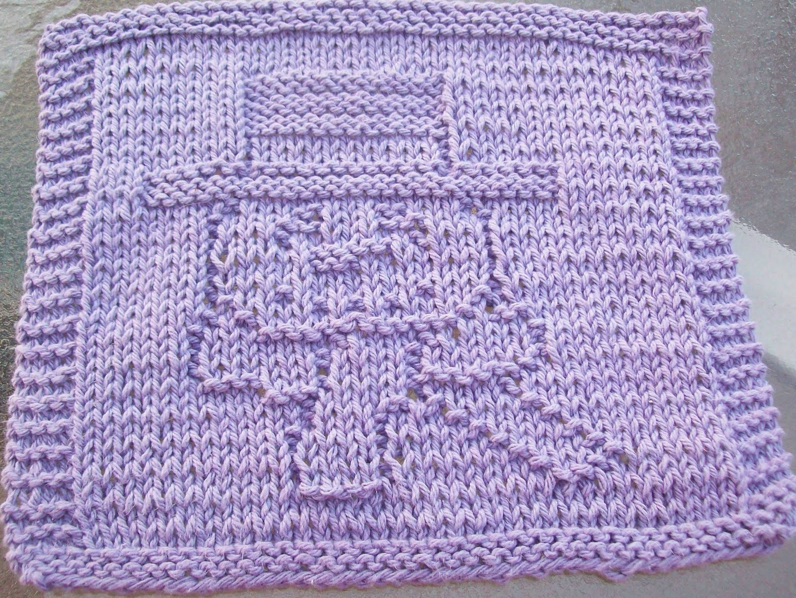 DigKnitty Designs Snowman With Scarf Knit Dishcloth Pattern