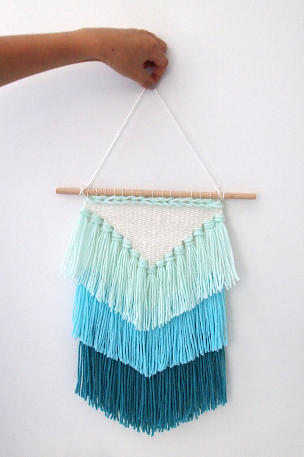 Inspirational Diy Weaving How to Make A Tassel Wall Hanging Mollie Makes Weaving Wall Hanging Of Brilliant 43 Models Weaving Wall Hanging
