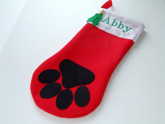Inspirational Dog Paw Christmas Stocking Dog Paw Stocking Of Charming 44 Ideas Dog Paw Stocking