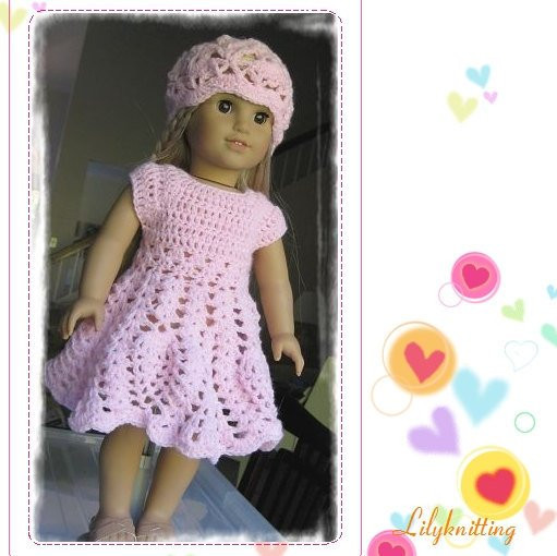 Inspirational Doll Dress American Girl Doll Dress Pattern Crocheted Doll Free Crochet Patterns for American Girl Dolls Clothes Of Adorable 50 Pictures Free Crochet Patterns for American Girl Dolls Clothes