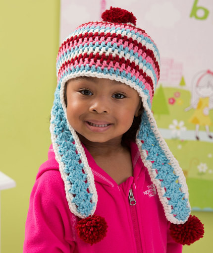 Inspirational Donna S Dozen Hats & Scarves for Charity Earflap Hat Crochet Pattern Of Wonderful 43 Images Earflap Hat Crochet Pattern