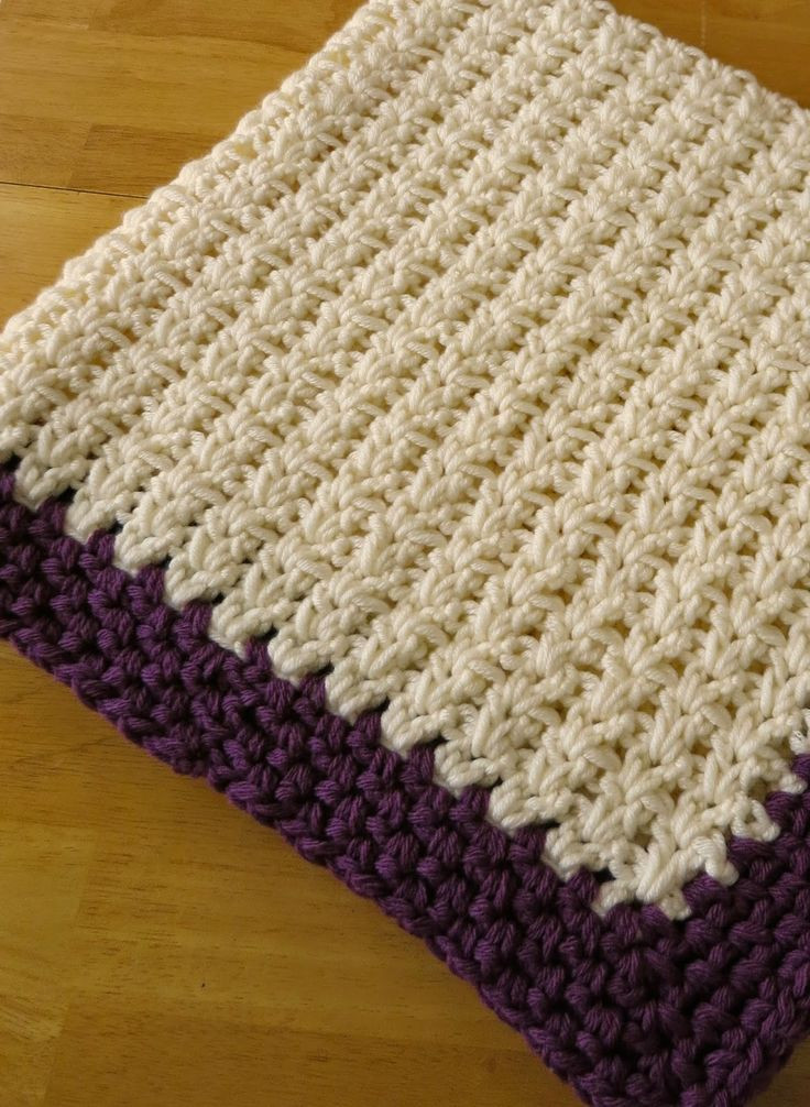 Inspirational Double Crochet Baby Blankets and Crochet On Pinterest Double Crochet Blanket Of Innovative 48 Models Double Crochet Blanket