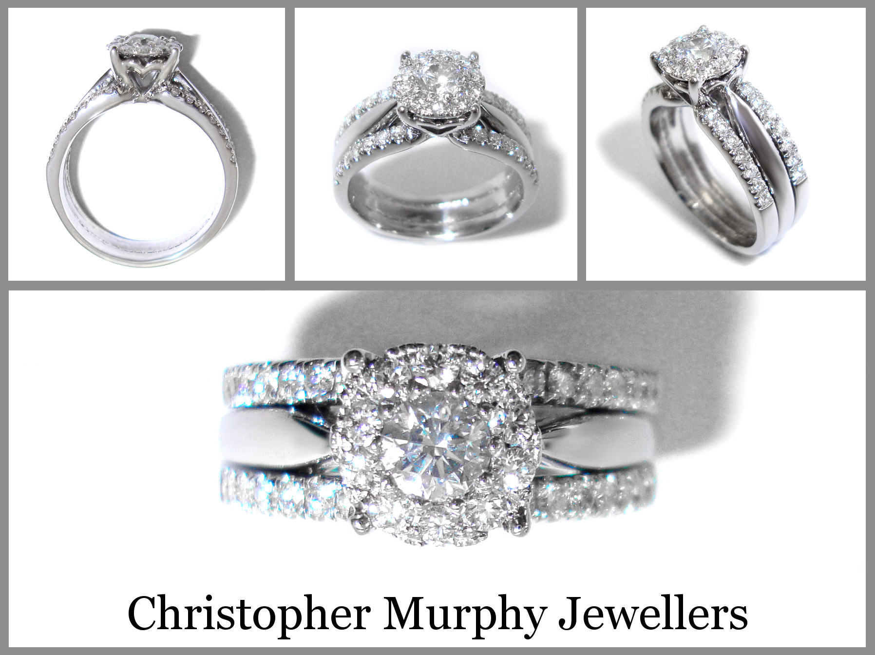 Inspirational Double Wedding Ring 203 Christopher Murphy Jewellers Double Wedding Ring Of Perfect 40 Photos Double Wedding Ring