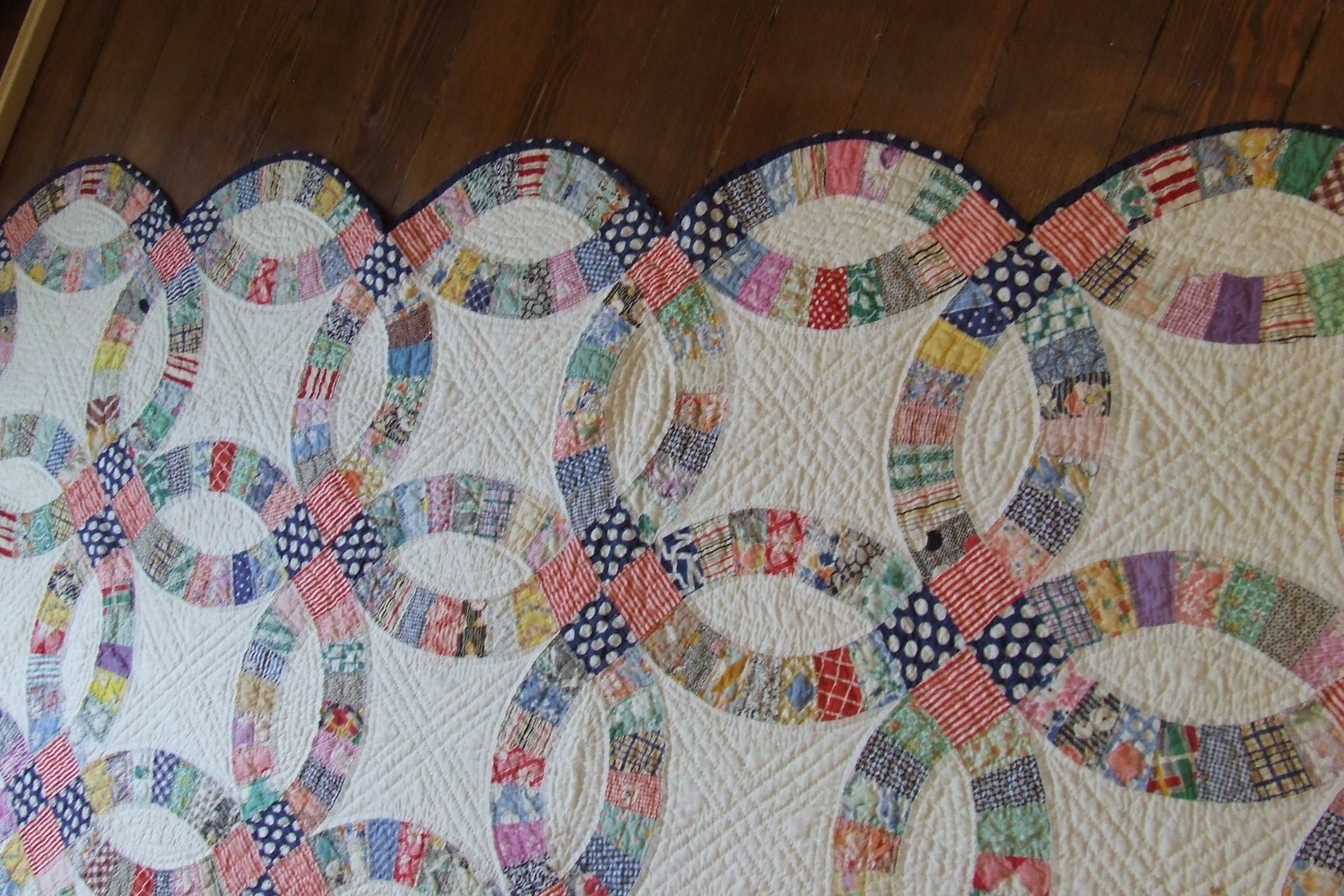 Inspirational Double Wedding Ring Quilt Wedding Ring Quilt Pattern Of Innovative 47 Pics Wedding Ring Quilt Pattern