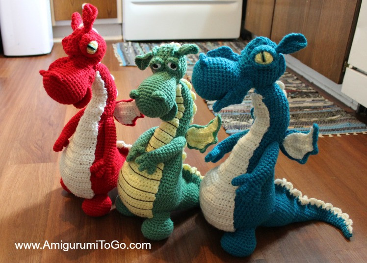 Inspirational Dragons In My Kitchen Free Pattern with Video Series Crochet Dragon Pattern Of Brilliant 50 Pictures Crochet Dragon Pattern