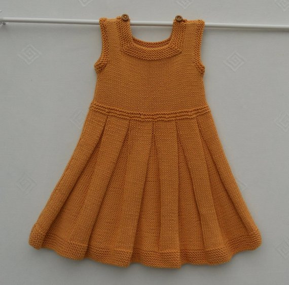 Inspirational Dress or Pinafore Tunic for A Baby Girl or toddlerhand Baby Girl Knitted Dress Of Incredible 47 Photos Baby Girl Knitted Dress