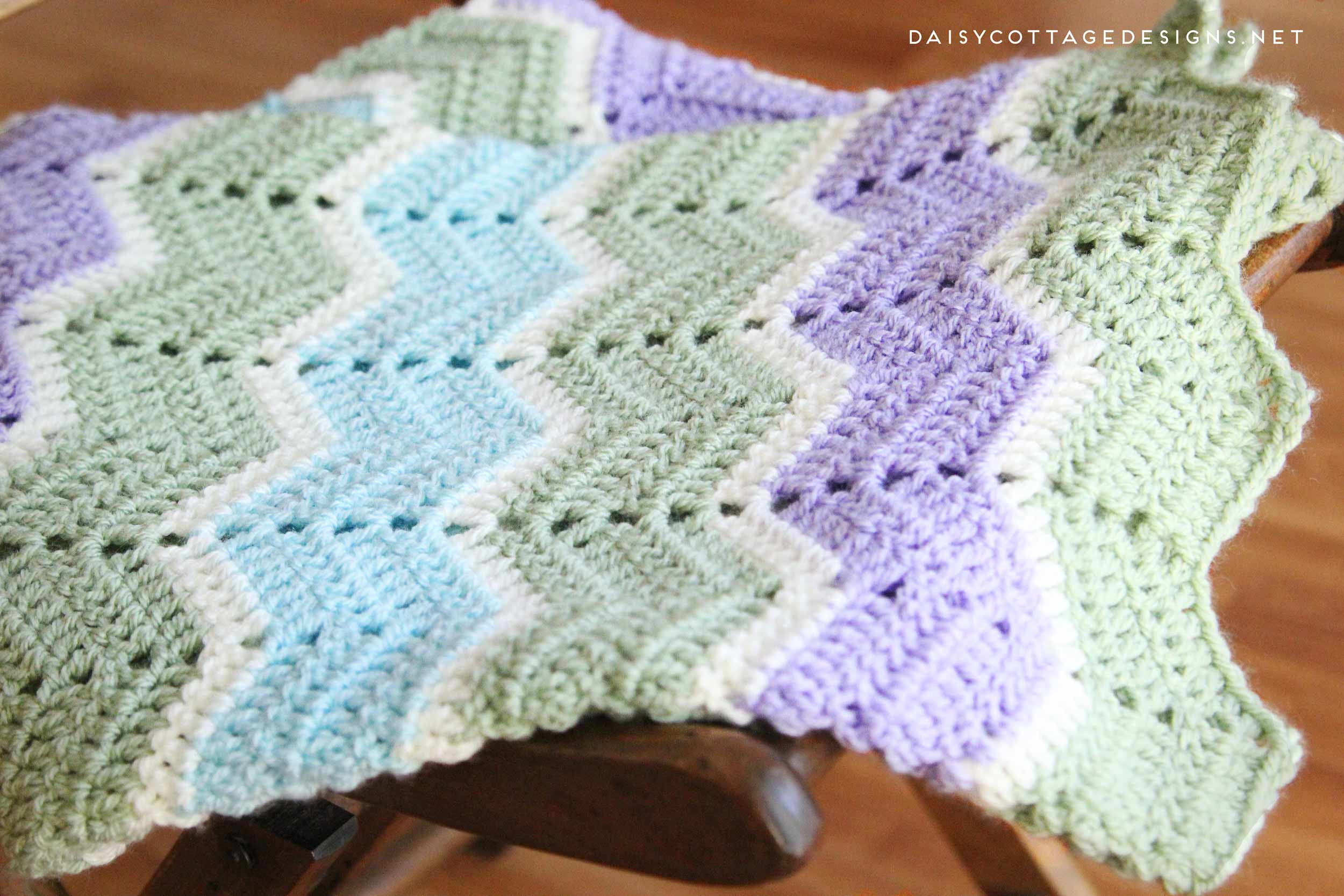 Inspirational Easy Chevron Blanket Crochet Pattern Daisy Cottage Designs Easiest Crochet Blanket Of New 50 Images Easiest Crochet Blanket