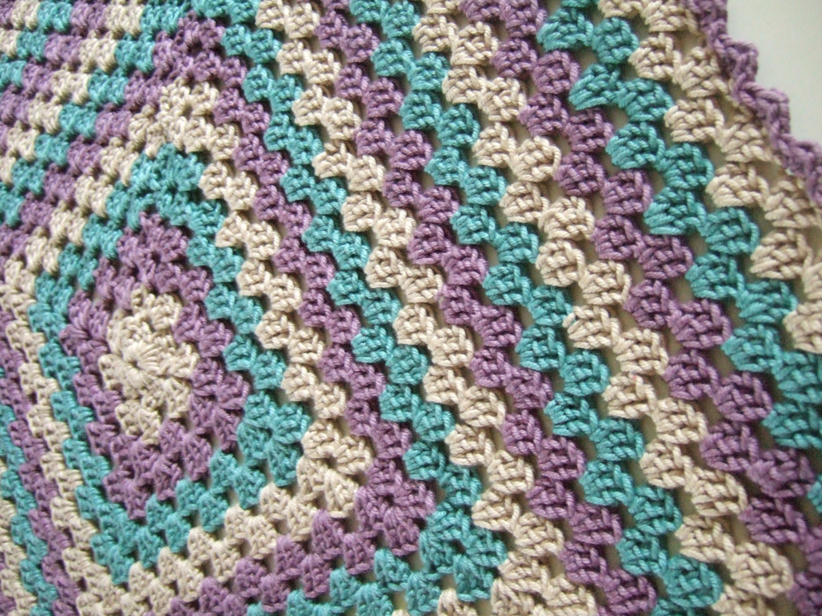 easy crochet baby blanket patterns for beginners
