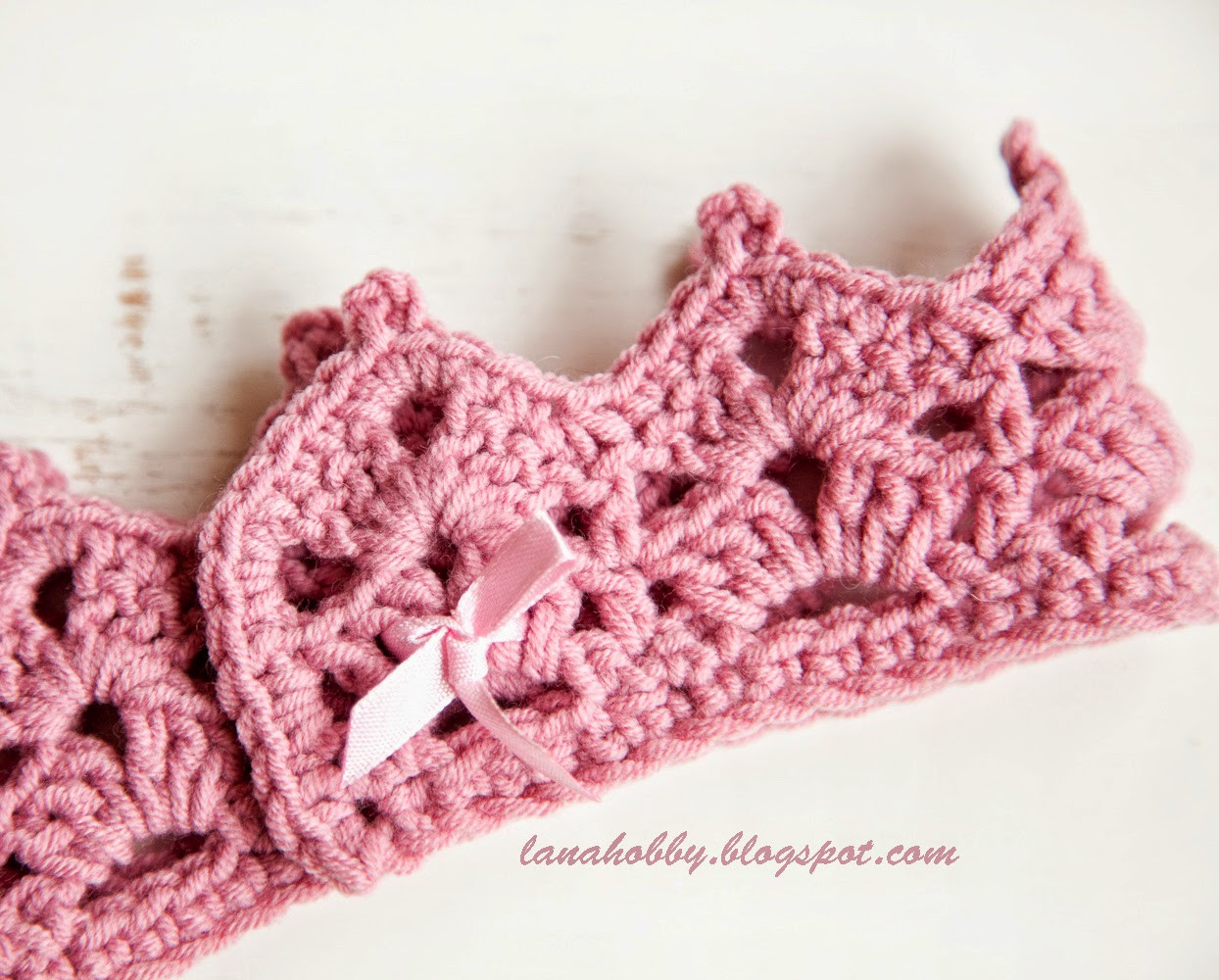 easy crochet baby headband pattern free