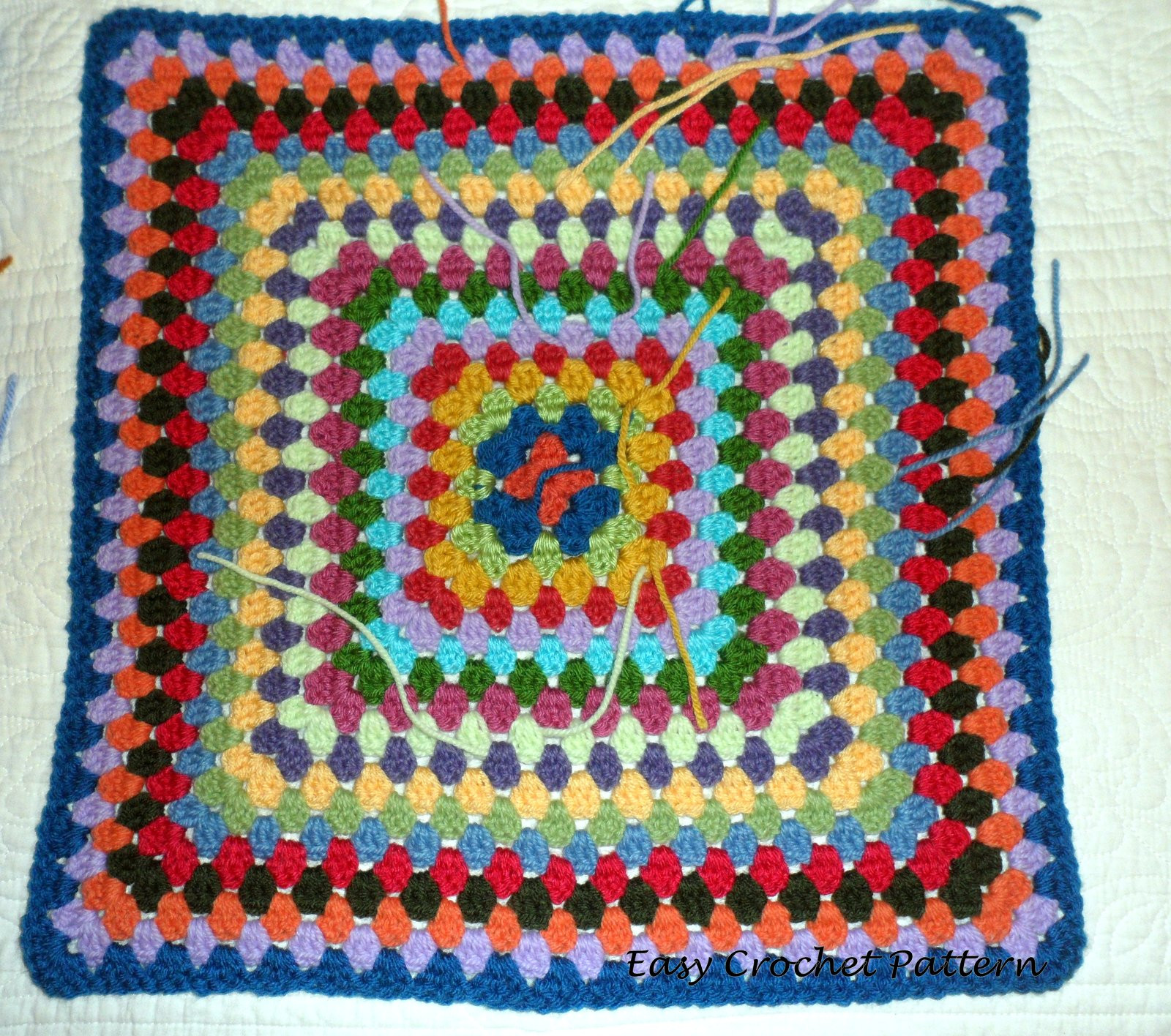 Inspirational Easy Crochet Pattern More Granny Squares Easy Granny Square Pattern Of Amazing 41 Pictures Easy Granny Square Pattern