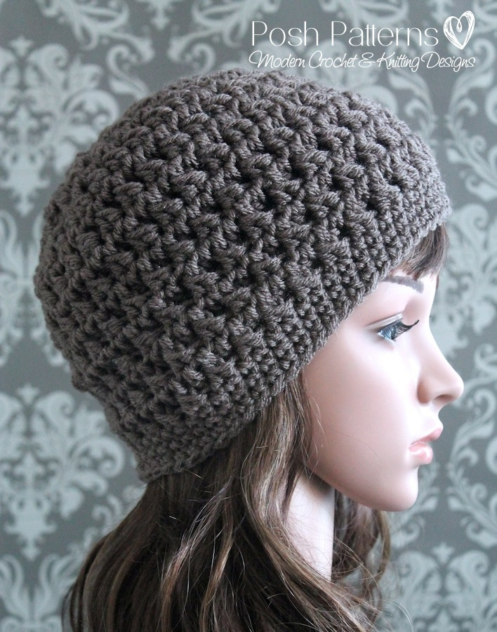 Inspirational Easy Crochet Patterns Hats Easy Crochet Beanie Pattern Of Charming 45 Ideas Easy Crochet Beanie Pattern