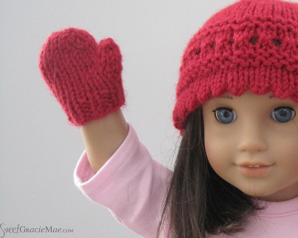 """Inspirational Easy Doll Mittens for 18"""" Dolls Knitted Doll Patterns Of Lovely 40 Models Knitted Doll Patterns"""
