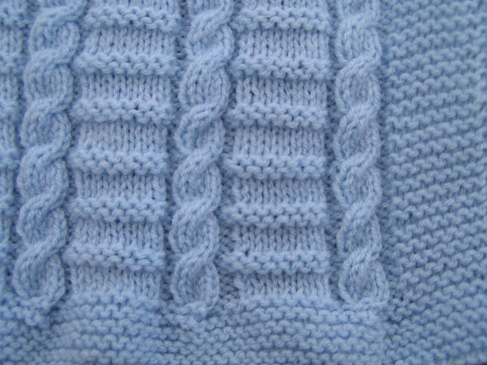 Inspirational Easy to Knit Cable Baby Blanket Pattern In Dk Cable Knit Baby Blanket Of Amazing 41 Photos Cable Knit Baby Blanket