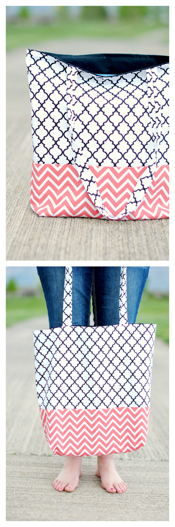 Inspirational Easy tote Bag Tutorial Project Bag Pattern Of Incredible 47 Models Project Bag Pattern