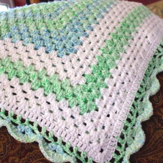 Inspirational Edging for Granny Square Baby Blanket Crochet Crochet Edging for Baby Blanket Of Awesome 47 Pictures Crochet Edging for Baby Blanket