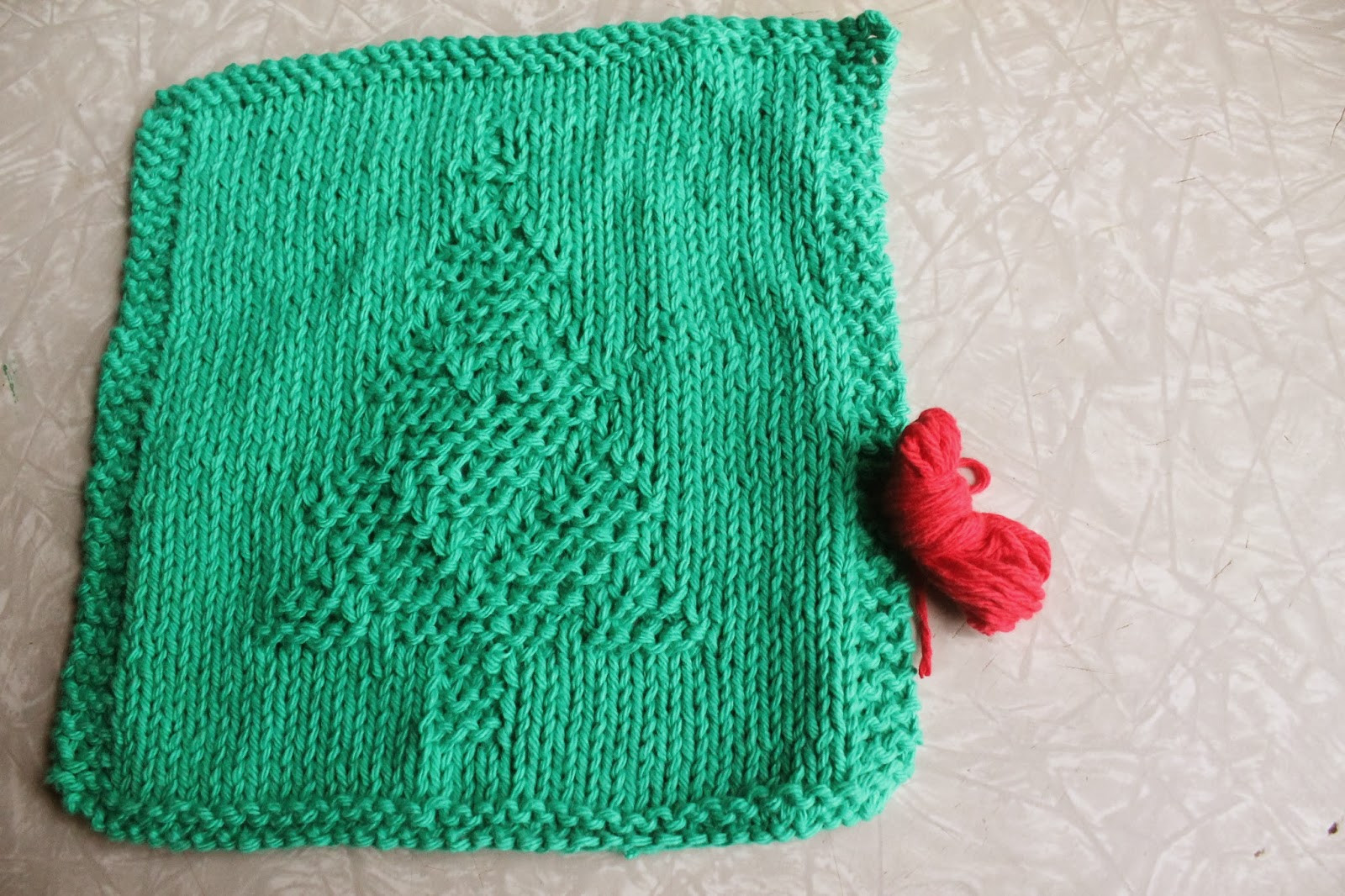 Everyday Life at Leisure Weekly Dishcloth Knitting the