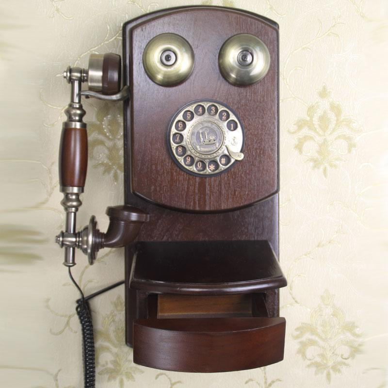 Fashion Antique Telephone Old Telephone Wall Hanging