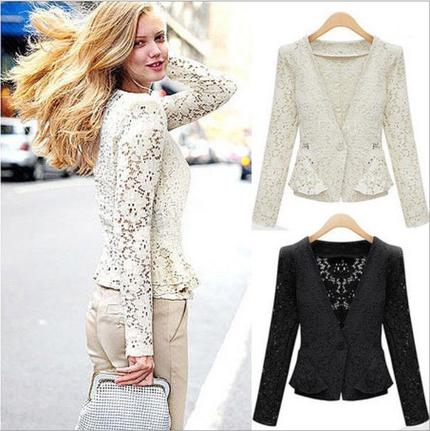 Inspirational Fashion New Women S Lady tops Slim Short Crocheted Lace Crochet Patterns for Women's Sweaters Of Top 48 Photos Crochet Patterns for Women\'s Sweaters